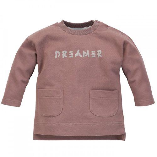 DREAMER18 Hosszú ujjú pamut pulcsi