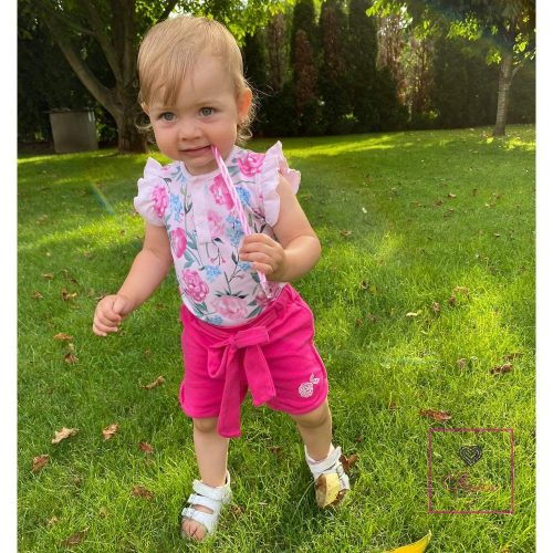 PEONY15 Kislány rövidnadrág
